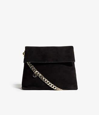 Karen Millen Fold-over Chain Strap Bag