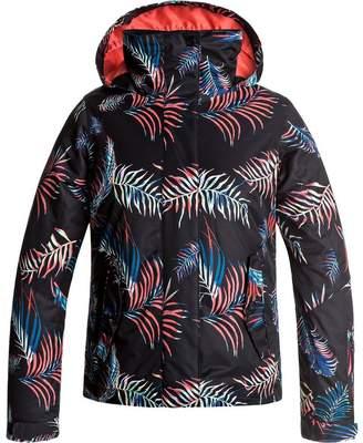 Roxy Jetty Girl Hooded Jacket - Girls'