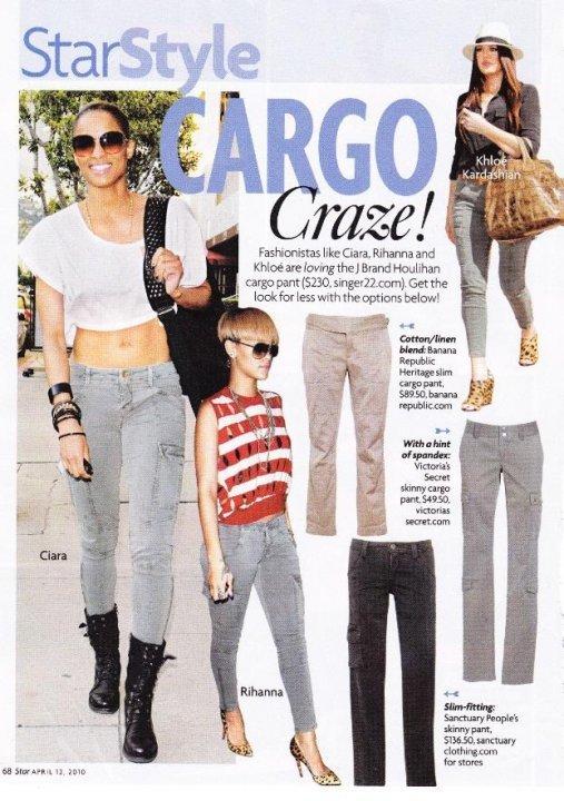 J Brand Houlihan Skinny Cargo Pants in many colors