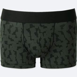 Uniqlo Men's Airism Sprz Ny Low-rise Boxer Briefs (francois Morellet)