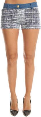 Pierre Balmain Denim Tweed Shorts