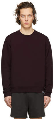Norse Projects Purple Classic Crew Vagan Sweatshirt