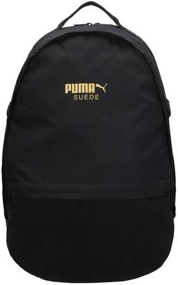 Puma Backpack In Black Fabric