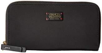 Frances Valentine Kennedy Zip Around Wallet Wallet Handbags