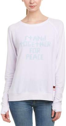 Peace Love World Comfy Sweatshirt