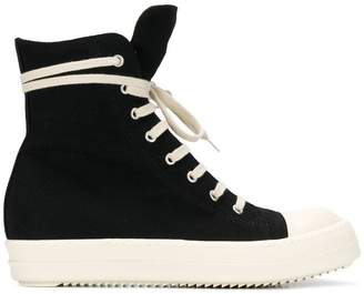 Rick Owens lace-up Hi-top trainers