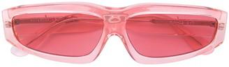 Marques Almeida Marques'Almeida square tinted sunglasses