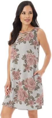 Apt. 9 Women's Strappy Floral Shift Dress