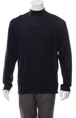 Kolor Wool Turtle Neck Sweater w/ Tags blue Wool Turtle Neck Sweater w/ Tags