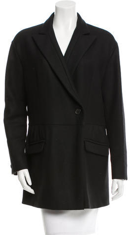 Miu Miu Miu Miu Wool Short Coat