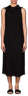 Raquel Allegra Women's Bandana Crepe Midi-Dress