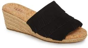 UGG Kendra Fringe Wedge Sandal