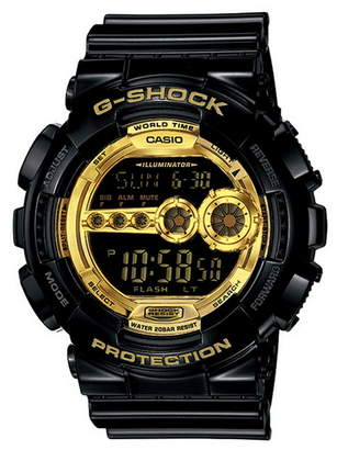 Casio (カシオ) - G-SHOCK/BABY-G/PRO TREK G-SHOCK/M)GD-100GB-1JF/Black×Gold Serie カシオ ファッショングッズ