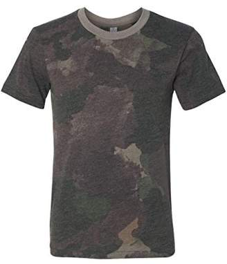 Alternative Men's Eco Jersey Printed Crew T-Shirt