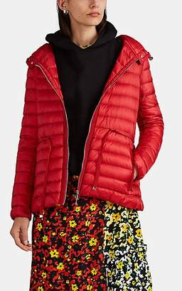 Moncler Women's Raie Down-Quilted Tech-Taffeta Puffer Jacket - Red