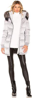 Soia & Kyo Alenne Jacket With Fur Trim