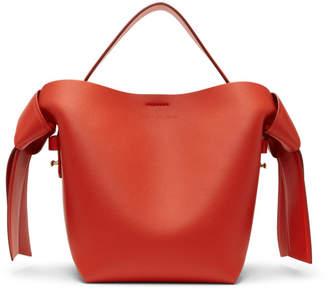 Acne Studios Red Mini Musubi Bag