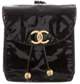 Chanel Patent Backpack