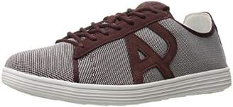 Armani Jeans Men's Textile Fashion Sneaker