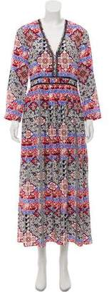 L'Agence Printed Silk Dress w/ Tags