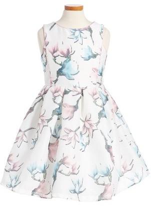Girl's Pippa & Julie Floral Print Sleeveless Dress $68 thestylecure.com