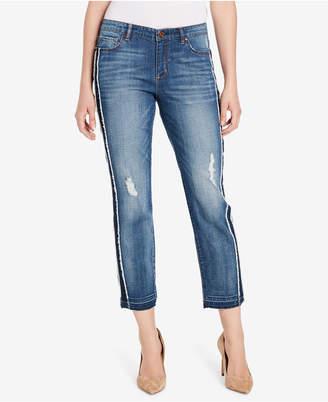 Vintage America Gratia Bestie Step-Hem Jeans