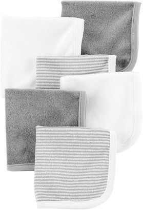 Carter's Baby 6-Pack Striped & Solid Wash Cloths