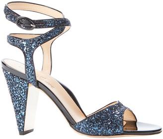 Marion Parke Loretta Glitter Patent Sandal