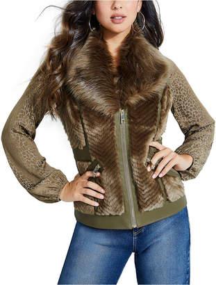 GUESS Faux-Fur Vest