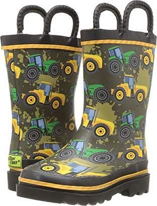Western Chief Boys' WCK Tractor Tough RAIN Boot