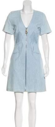 Tanya Taylor Denim Madeline Dress w/ Tags