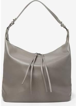 Dorothy Perkins Womens Grey Double Zip Hobo Bag