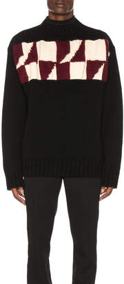 Calvin Klein Chest Graphic Sweater