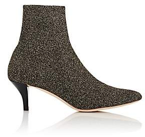 Loeffler Randall Women's Kassidy Knit Ankle Boots - Gold