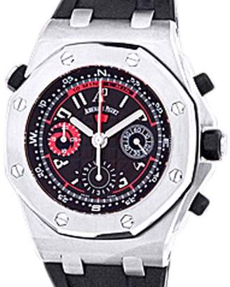 "Audemars Piguet Royal Oak Offshore Polaris"" Chronograph Stainless Steel Strap Watch"