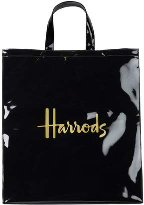 Harrods Signature Logo Large Shopper Bag