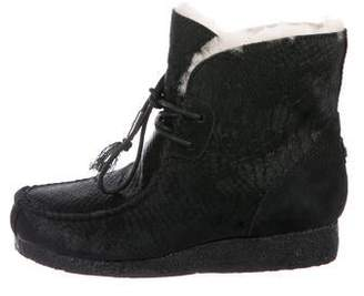 Australia Luxe Collective Ponyhair Ankle Boots w/ Tags