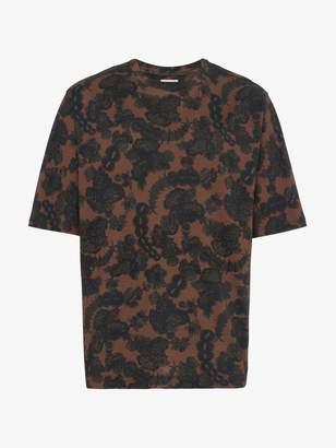 Dries Van Noten floral print cotton t shirt