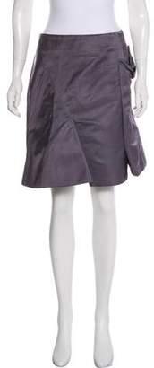 Marni Silk Mini Skirt w/ Tags