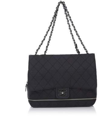 Chanel Vintage Matelasse Chain Nylon Flap Shoulder Bag