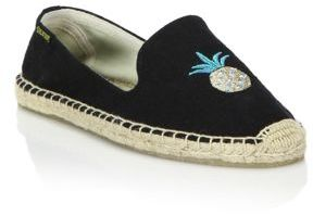 Soludos Pineapple Espadrille Flats $65 thestylecure.com