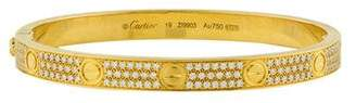 Cartier Diamond Pavéd LOVE Bracelet
