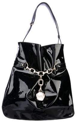 Viktor & Rolf Belted Patent Leather Tote