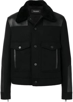 Neil Barrett patch pocket jacket