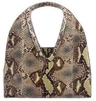 Salvatore Ferragamo Glazed Python Shoulder Bag