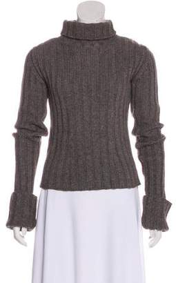 Ann Demeulemeester Rib Knit Turtleneck Sweater