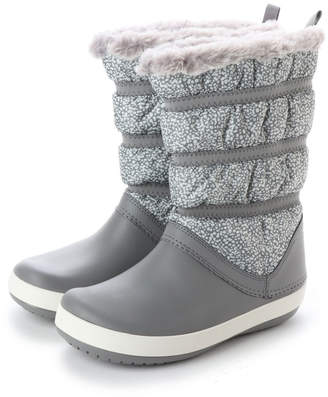 Crocs (クロックス) - クロックス crocs レディース ロングブーツ Crocband Winter Boot W 205314 4412