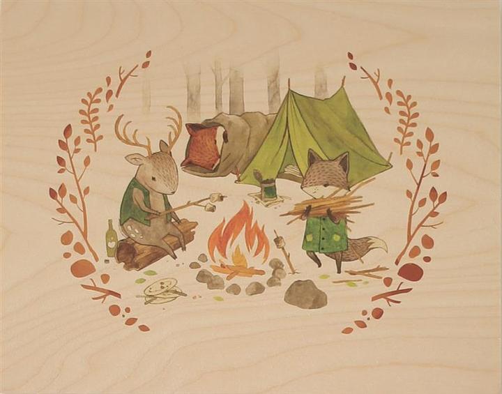 Making A Campfire