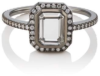 Eva Fehren Women's Portrait-Cut White-Diamond Ring