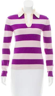Clements Ribeiro Striped Cashmere Sweater